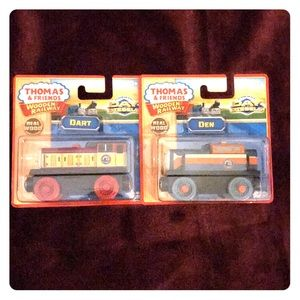 NIB Thomas & Friends Den and Dart Trains
